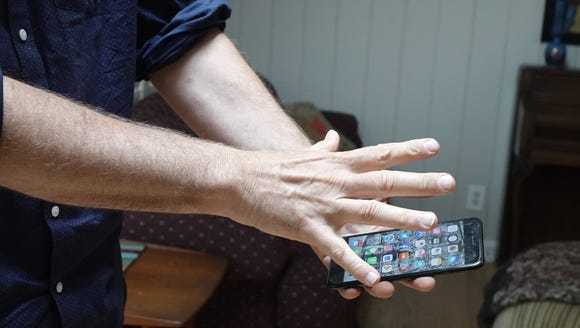 Waving to your smartphone could be a thing in the future