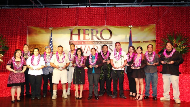 Guam Visitors Bureau and Guam Hotel and Restaurant Association honors 14 HERO award winners on Friday, July 28.