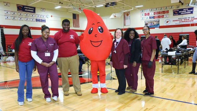 Blood drive a success at Plainfield High School, a service to help hundreds.