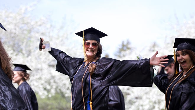 Vermont Tech graduated over 500 students at three Commencement ceremonies on their Randolph Center campus this past weekend. (Herald / Ben DeFlorio)