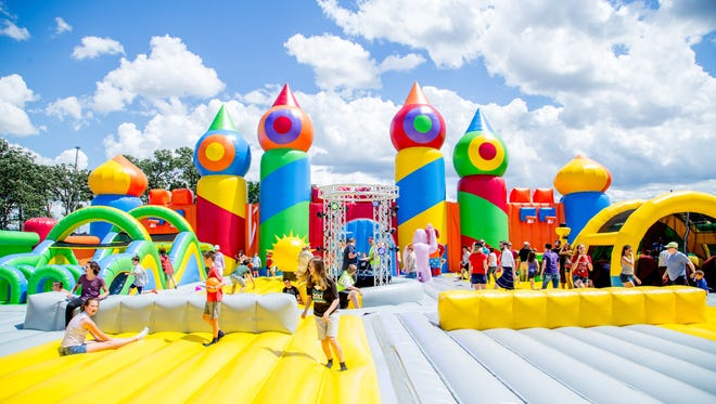 Big Bounce America is coming to Chester, Pa.
