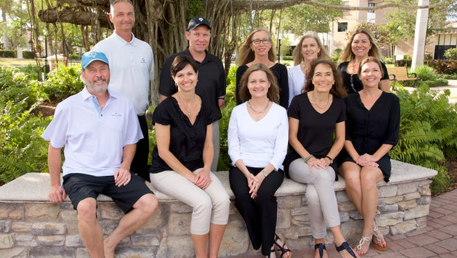 The 17th annual Robert F. Novins Memorial Golf Tournament and Reception will take place May 4-5. Committee members planning the event are, from left, top row: Joe Ryan, Carson Novins, Beth Novins, Sandie Zeigler, and Sarah Andersen; bottom row: Robert Holland, Nicole King, Mary Fields, Petra Eberle, and Juliet Ciaravino.