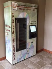 The Coyle Free Library has ordered two vending machines,