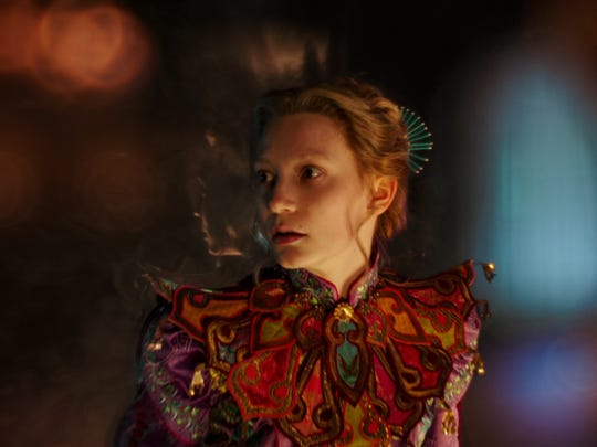 """Lewis Carroll fans can rejoice, as the character of Alice (Mia Wasikowska) returns to the screen in """"Alice Through the Looking Glass."""""""