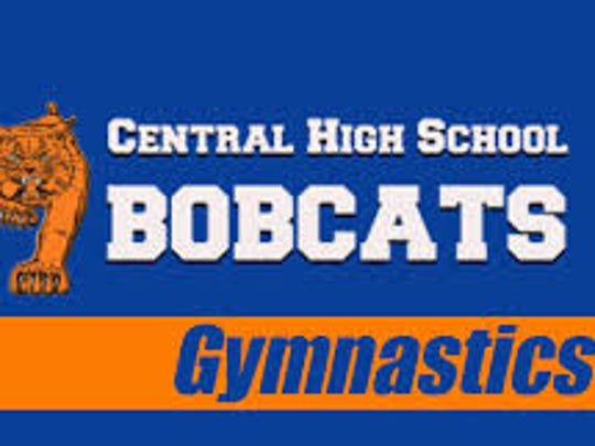 Central High School gymnastics logo