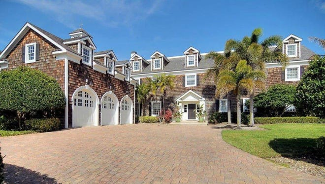 This beachfront home recently sold for $2.5 million.