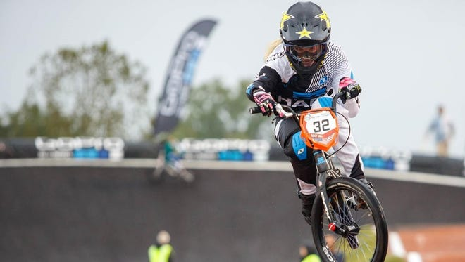 Visalia native Brooke Crain will be competing in women's BMX cycling at the Rio 2016 Summer Olympic Games.