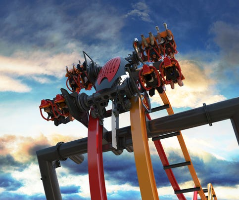 New attractions at Six Flags: From concept to midway