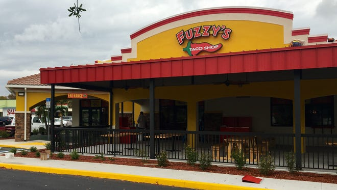 The area's first Fuzzy's Taco Shop opened May 9 in south Fort Myers.