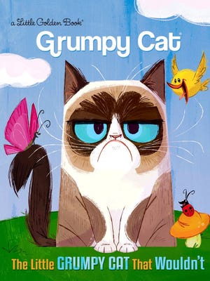 Grumpy Cat gets her own Little Golden Book.