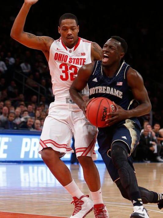 Notre Dame Ohio St Basketball
