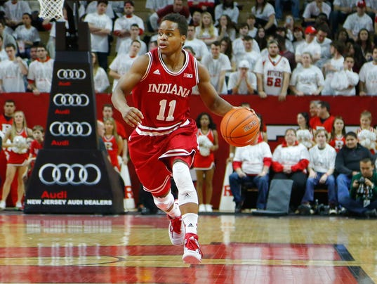 NCAA Basketball: Indiana at Rutgers