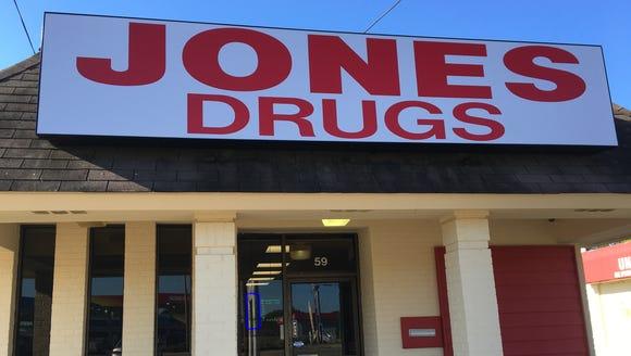Jones Drugs recently opened on Fairview Avenue in Montgomery.