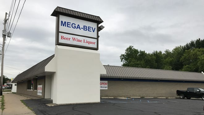 Mega-Bev opened in Lansing in June and boasts 10,000 different kinds of beer, wine and liquor available.