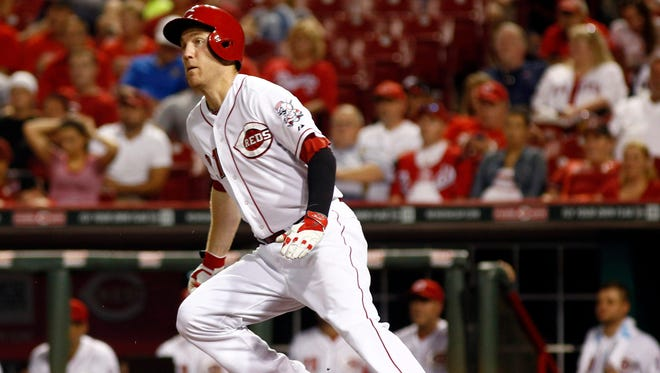 Reds third baseman Todd Frazier is among a group of hitters in the upper echelon by current standards, even though he's batting just .280