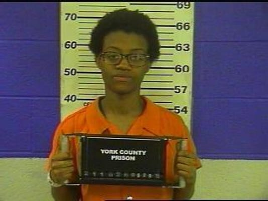 Keshawn Monee Ellis, 23, of York, charged in connection with a Maryland stabbing.