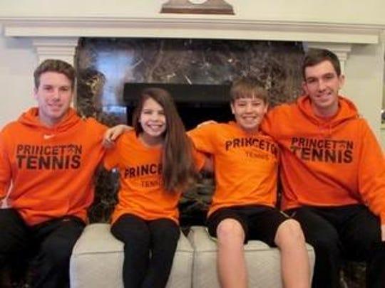 Tom Colautti, Lily Anzalone age 11 Jack Anzalone, 13 and Ben Quazzo