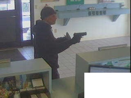 Spring Grove bank robbery