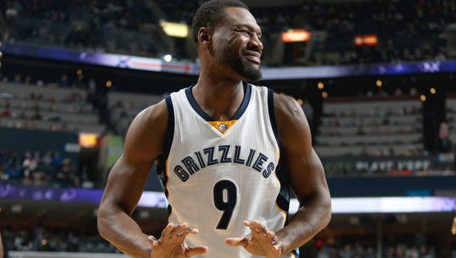 Tony Allen averaged 9.1 points, 5.5 rebounds, 1.6 steals and 1.4 assists in 71 games for theGrizzlieslast season.