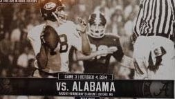 A ticket to Saturday's Alabama-Ole Miss game costs slightly more than it did two months ago.