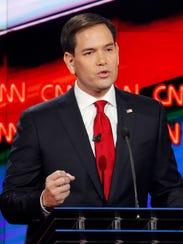 Marco Rubio, ex candidato republicano a la presidencia