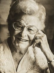 Mansfield University senior Emilee Andrews photographed this portrait of Roberta Bedzyk of Elmira Christian Center.