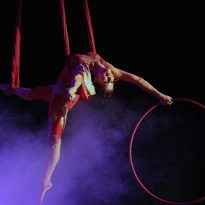 Cirque Italia makes splash in Anderson