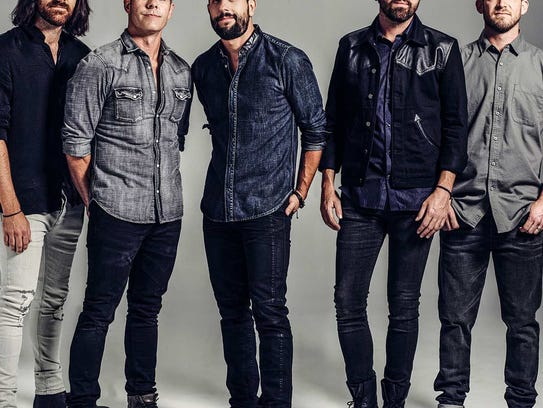 Rising country group Old Dominion will perform at 7:30