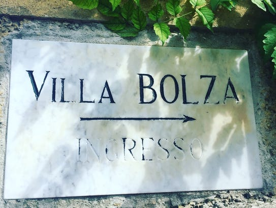 Villa Bolza is located in the town of Loveno in the