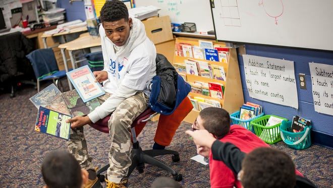 Men are needed to read to York City students for the upcoming 100 Men Reading program.