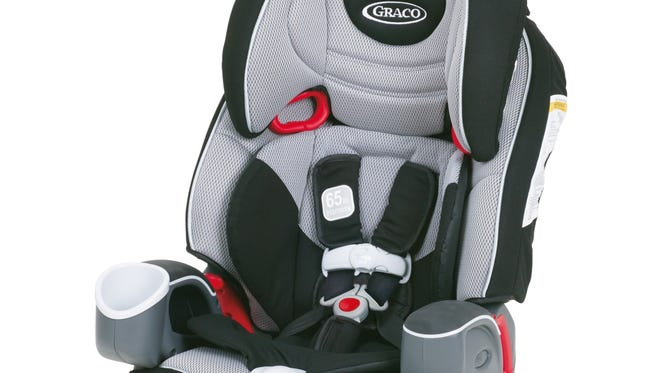 Nautilus child seat was one of the seats recalled by Graco because the buckle can become difficult or impossible to open.