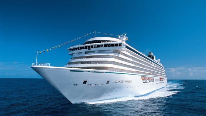 Crystal Cruises recently relaxed its dress code, but the Crystal crowd likes glitz and it shows on Black Tie Optional nights.