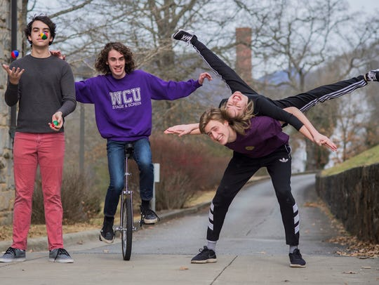 """The student cast of WCU's production of """"J.B."""" includes,"""