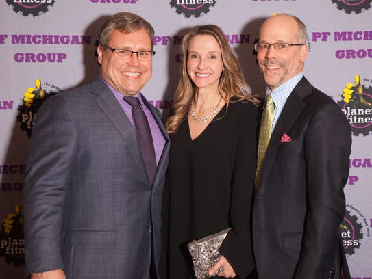 From left,: W.B. Pete Hopkins, Laura Rief and Bryan