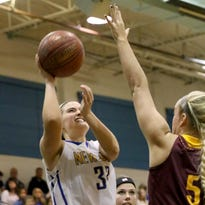Breen steps up for NewCath girls basketball