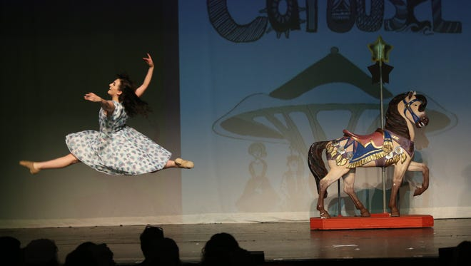 "Pleasantville High School performs ""Carousel"" at the 18th annual Metropolitan High School Theater Awards at Archbishop Stepinac High School June 6, 2016."