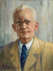 Hans Meyer-Kassel Self-portrait, circa 1950 Pastel
