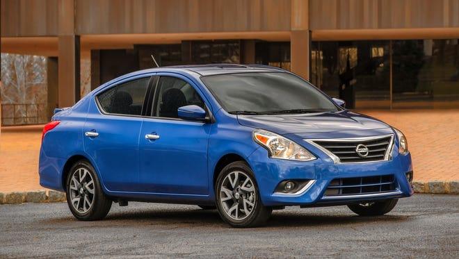 2016 Nissan Versa Efficiently Refined