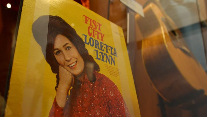 "The ""Loretta Lynn: Blue Kentucky Girl"" exhibit opens Friday, August 25, 2017 at the Country Music Hall of Fame in downtown Nashville. Original album pressings, instruments, wardrobe and other artifacts were assembled for the tribute."