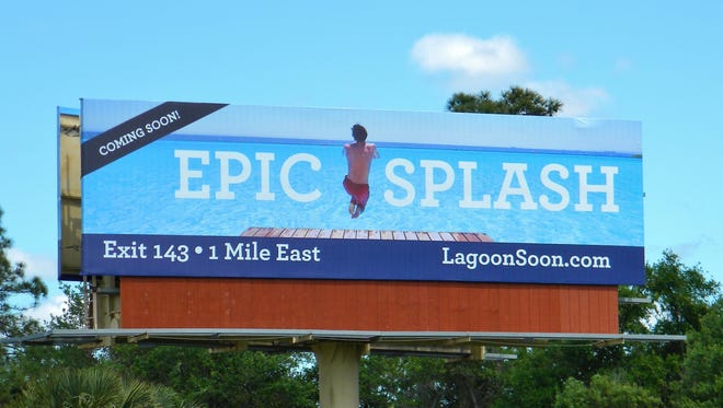 Drivers on Pritchett Parkway will notice a new billboard with an improbable come-on for North Fort Myers -- water. With Brightwater, a planned community here, Metro Development will use Crystal Lagoons water technology to create a water feature the size of eight football fields, enhancing the ambiance and value of the real estate.
