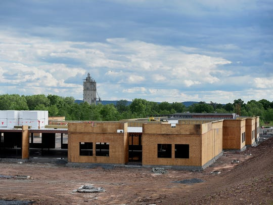 Construction on Northwest School continues.