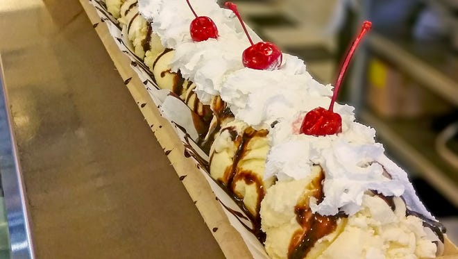 Ludington might soon be the home to the longest ice cream dessert.