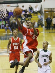 Jeff Teague was told as a sophomore at Pike to be more vocal on the court.
