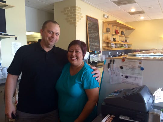 Margaret Serna and Jason Peppers opened Lehigh's Daily