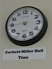 Staff members at the Boys State Training School removed the minute and hour hands from this clock as a joke, to indicate time doesn't exist there. Disability Rights Iowa cites the clock as a sign of the staff's disregard for students' experiences.