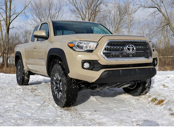 Toyota Motor Corp.  unveiled an all-new 2016 Tacoma
