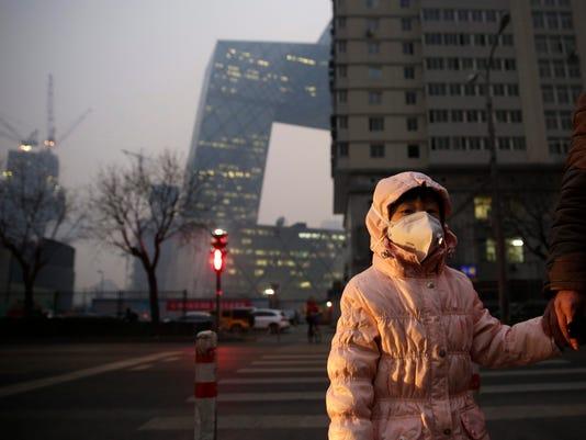 EPA CHINA ENVIRONMENT AIR POLLUTION ENV ENVIRONMENTAL POLLUTION CHN