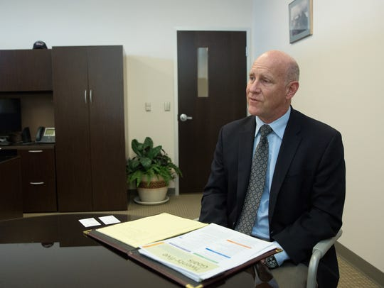 Stuart Ed, the new City Manager for the City of Las