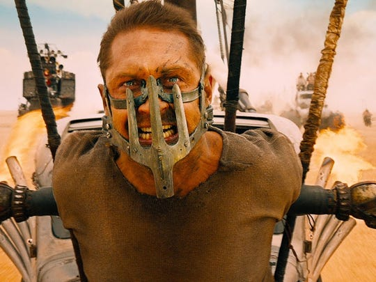 """Tom Hardy in """"Mad Max: Fury Road."""""""