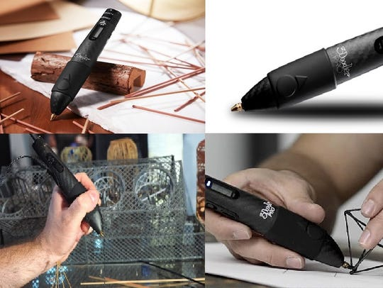 Unleash your creativity with this 3D pen that lets